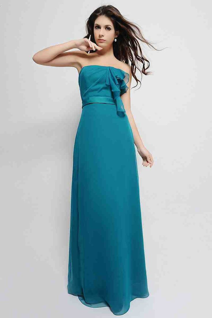 16 best turquoise bridesmaid dresses images on pinterest blue turquoise chiffon bridesmaid dresses 1 ombrellifo Images