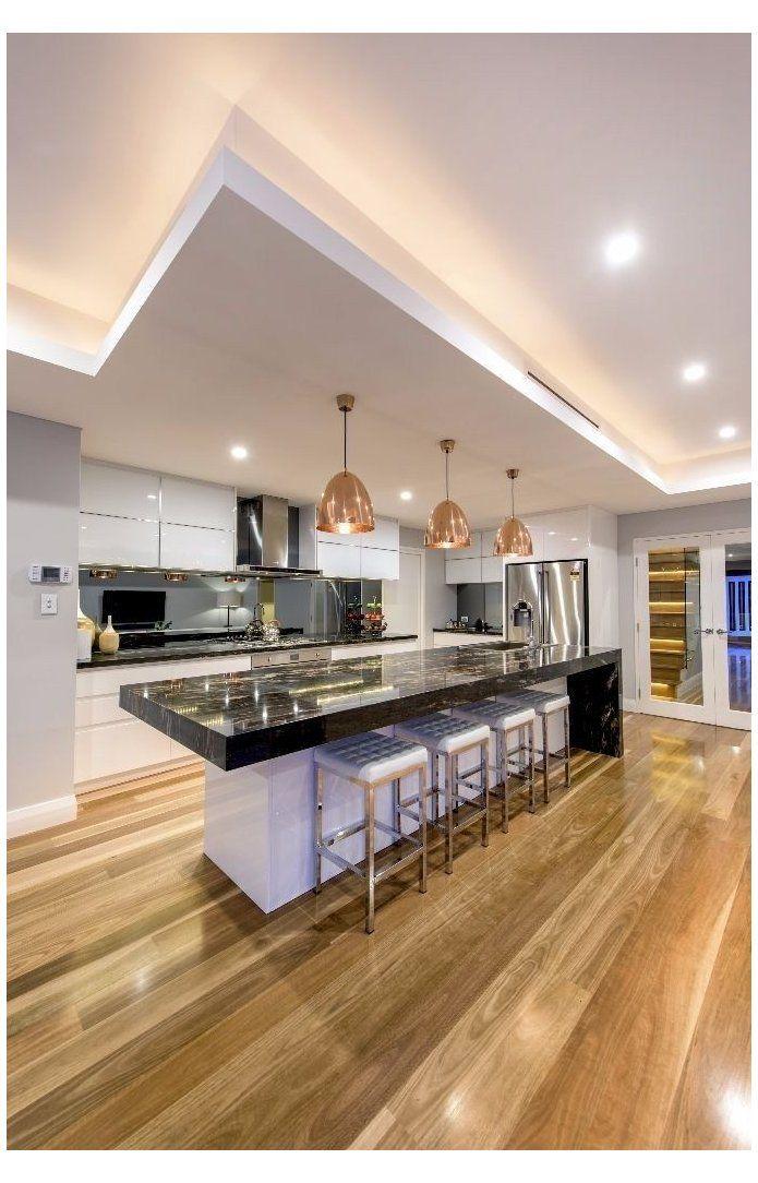 Chic Modern Kitchens That Still Feel Warm And Inviting Luxury Kitchen Design 2020 F In 2020 Luxury Kitchen Design Contemporary Kitchen Design Modern Kitchen Design