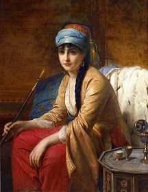 Maher Art Gallery: MIDDLE-EAST BEAUTIES IN PORTRAITS // Oriental Beauty ... The portrait