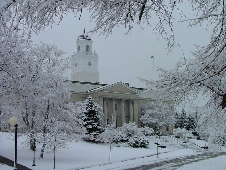 I was a lucky student.     Acadia University, Wolfville, Nova Scotia