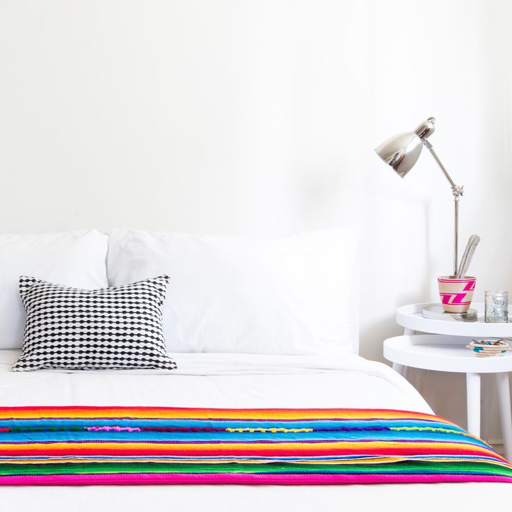 For each Serape Blanket sold, the artisan can provide her family with one month of electricity.