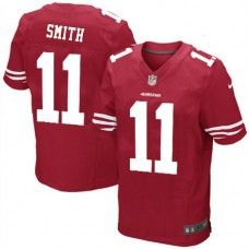 Nike Elite Youth San Francisco 49ers #11 Alex Smith Team Color Red NFL Jersey  $79.99