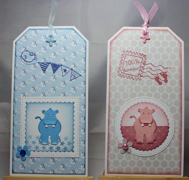 Les cartes de Blueberry: Petits hippopotames