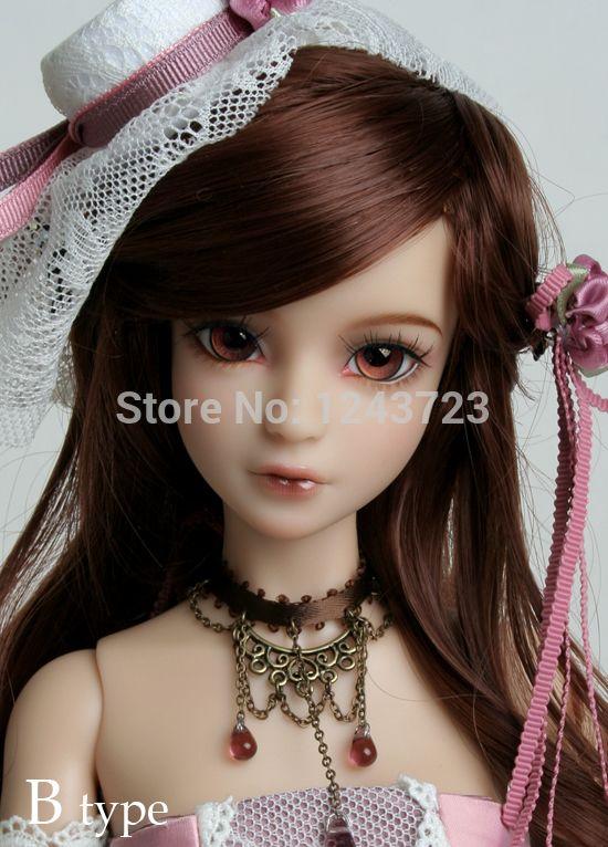 Бесплатная доставка 1/4 (42.5cm) мини Татьяна BJD куклы девушка, как подарки на день рождения для детей, женщин сд куклы (макияж и глаза включены) -inDolls от игрушки & Хобби на Aliexpress.com! | Alibaba Group