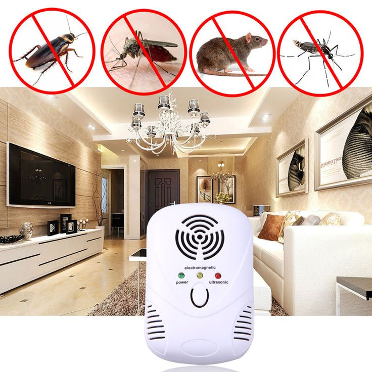 Ultrasonic Anti Mosquito Pest Bug Insect Cockroach Repeller Mouse Device Eu/Us