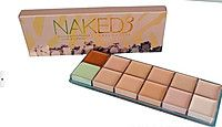Палетка кремовых консилеров Naked 3 Urban Decay 12 оттенков