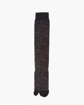 Knee high sock with separate pouch for big toe // Malloni Online Boutique