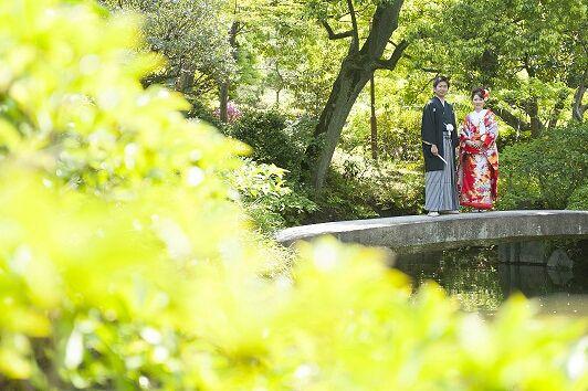 打掛着付けとヘアメイク 結婚式和装前撮り - 結婚式白無垢レンタルと着付け&ブライダルヘアメイク青山、和装前撮りフォトウエディング東京