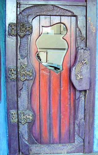 Purple Door, by aka_banan: This door was for anail salon in Victoria, BC. The door opened into a scary stairwell that led to the shop on the second floor. | Flickr - Photo Sharing!