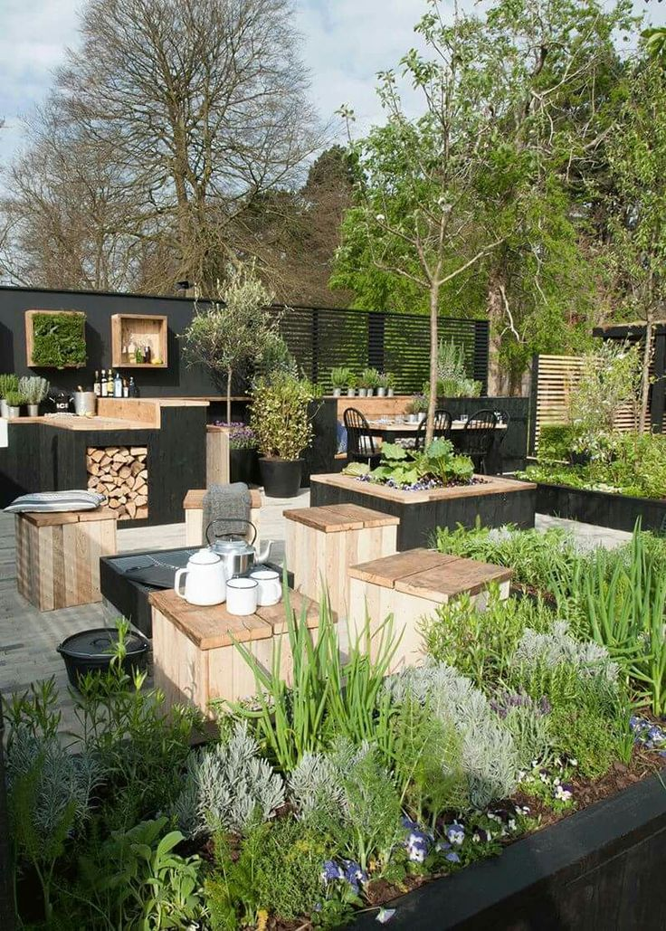 pingl par jean michel bultel sur terrasses jardins pinterest terrasse jardin terrasses. Black Bedroom Furniture Sets. Home Design Ideas