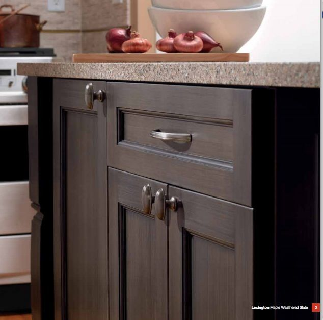 about Kitchens on Pinterest  Kitchen craft, Granite and Dark cabinets