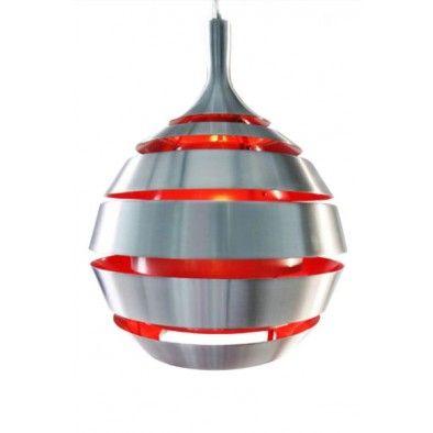 Hanglamp Alpha rood