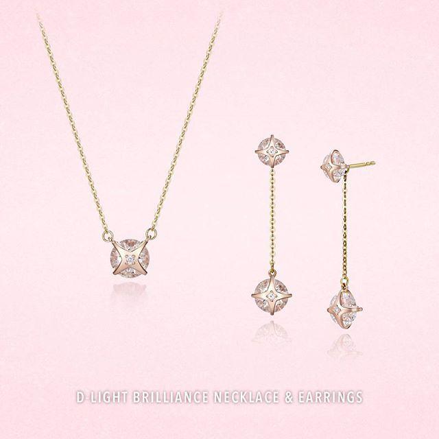 [ Stylus Jewelry ] 사랑스러운 핑크 골드와 화사한 옐로 골드의 조화가 아름다운 'D-라이트브릴리언스 목걸이 & 귀걸이'   중앙에 셋팅된 다이아몬드는 착용하였을 때 더욱 눈부시게 빛나 아름다운 포인트가 된답니다  우아한 목걸이는 데일리 주얼리로 딱! 드롭 귀걸이는 포인트 주얼리로 딱! - 'D-라이트브릴리언스 목걸이 & 귀걸이'와 함께라면 올 겨울 주얼리 스타일링은 문제 없어요! ⛄ - Stylus Jewelry D-light Brilliance Necklace & Earrings  #stylus #stylus_jewelry #fashion #jewelry #delight #necklace #earring #dropearring #diamond #love #gift #ootd #스타일러스 #스타일러스주얼리 #D라이트 #목걸이 #귀걸이 #드롭귀걸이 #포인트귀걸이 #데일리목걸이 #이세영귀걸이 #패션 #주얼리 #선물 #다이아몬드  www.estylus.co.kr