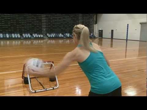 One Minute Challenge - Netball - Crazy Catch Training Centre - YouTube