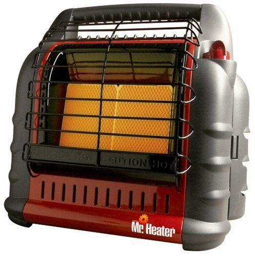 This Xmas Santa delivered me a shiny Mr. Heater Big Buddy model MH18B. I also picked up a 12 foot propane rubber extension hose so I could use my RV LP Gas