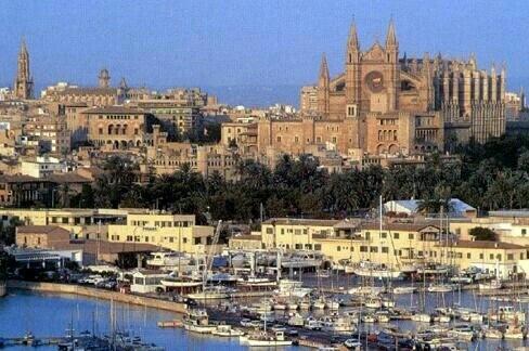 El mejor sitio del mundo es Palma de Mallorca.