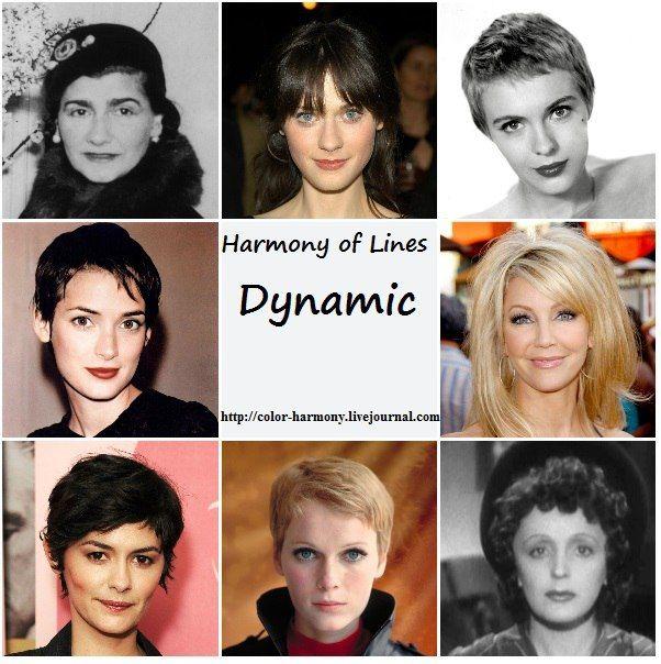 Harmony of Lines: Коллажи со звездами для типирования. - Красота, вдохновленная природой
