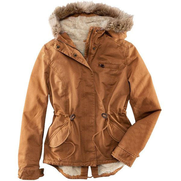Thicken Lining Fur Hooded Coat (440 BRL) ❤ liked on Polyvore featuring outerwear, coats, jackets, chicnova, fur-lined coats, fur hood coat, brown coat, long sleeve coat and fur lined hood coat