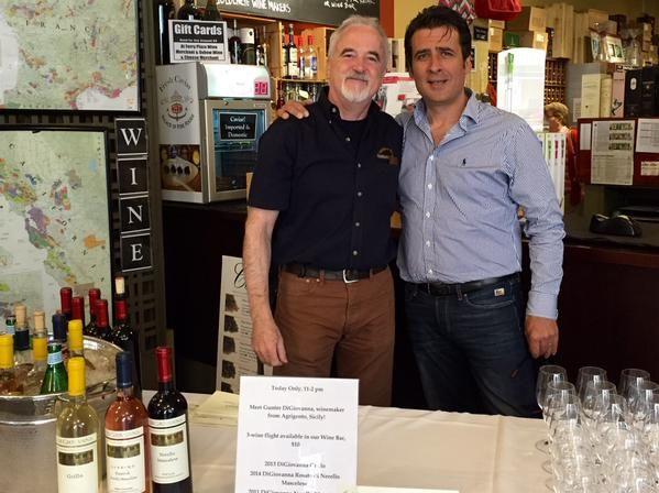 "Aet Hooper on Twitter: ""Wine tasting w/ Gunther Di Giovanna, come by 11-2pm @ferryplazawinemerchants @DiGiovan1 @kmuirwino @Regal_Wine http://t.co/TZC6JYh11l"""