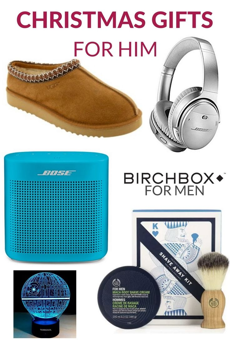Best Christmas Gifts 2017 Ideas for Him - Great gift ideas for the men in your life!  Birchbox for men   Star Wars Gifts   Bose   Uggs   Christmas Gift Ideas   Christmas Gifts for Him   Unique Christmas Gift Guide   #Christmas #Christmasgifts #christmasgiftsideas #ChristmasGiftIdeas #christmasgiftguide #ChristmasGift2017 #2017ChristmasGuide #GiftsforHer #ChristmasGiftsforHim #ChristmasGiftsforKids #ChristmasGiftsforTeens #giftguide2017 #giftguide #stockingstuffers #stockingstufferideas