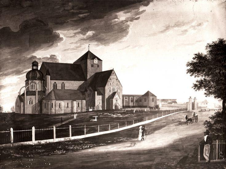 Trondheim, Norway in circa 1820