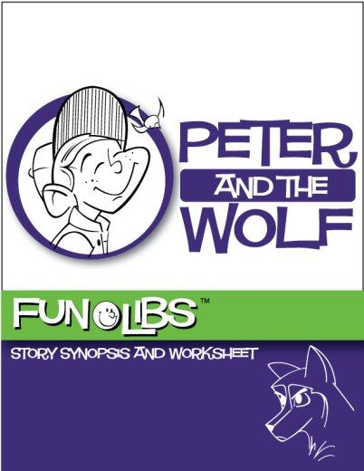 Peter and The Wolf FunLib (MadLib) from Peter and the Wolf | 8 Music Lesson Plans and Resources including Music Lesson Pack, Listening Journal, and Writing Prompts.