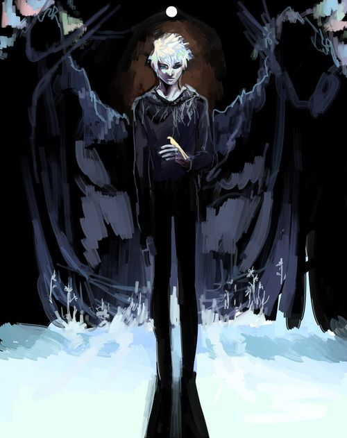jack frost and pitch black kiss - photo #39
