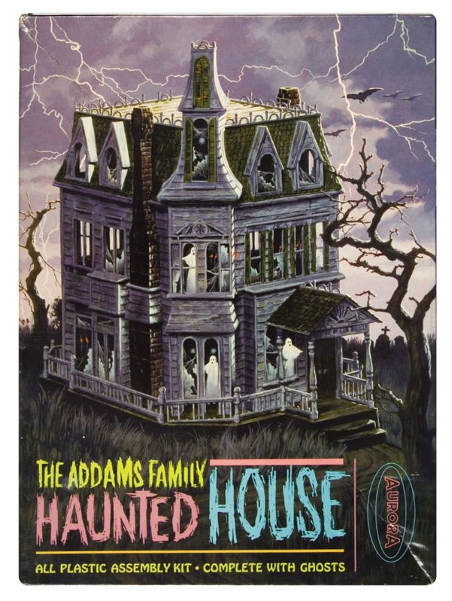 The addams family haunted house model haunted houses for Pinterest haunted house