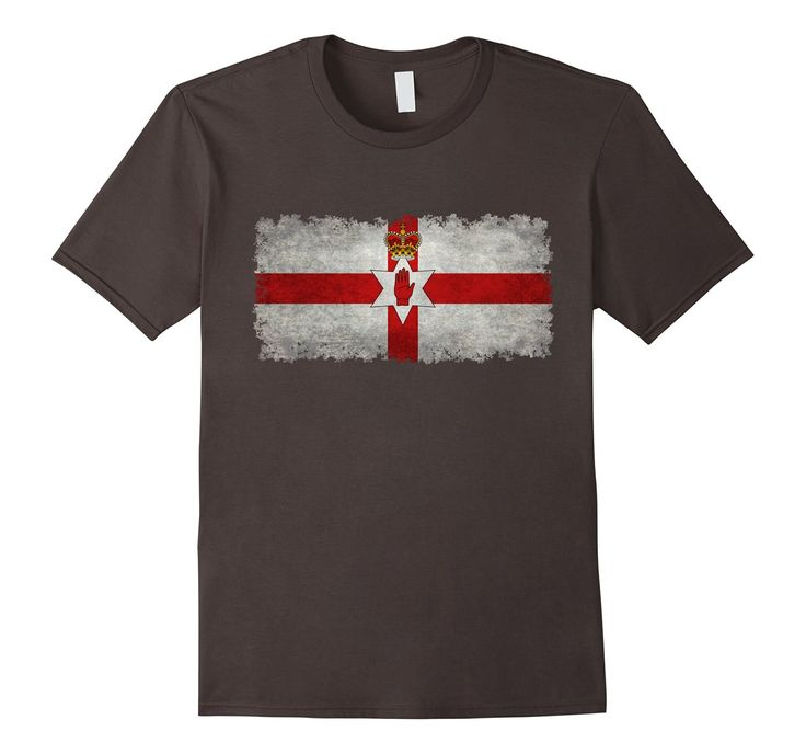 Amazon.com: Official LoneStarDesigns Vintage Northern Ireland The Ulster: Clothing #ulster #northernireland #flag #ulsterbanner