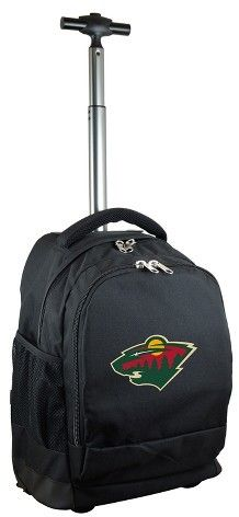 NHL Mojo Premium Wheeled Backpack - Black