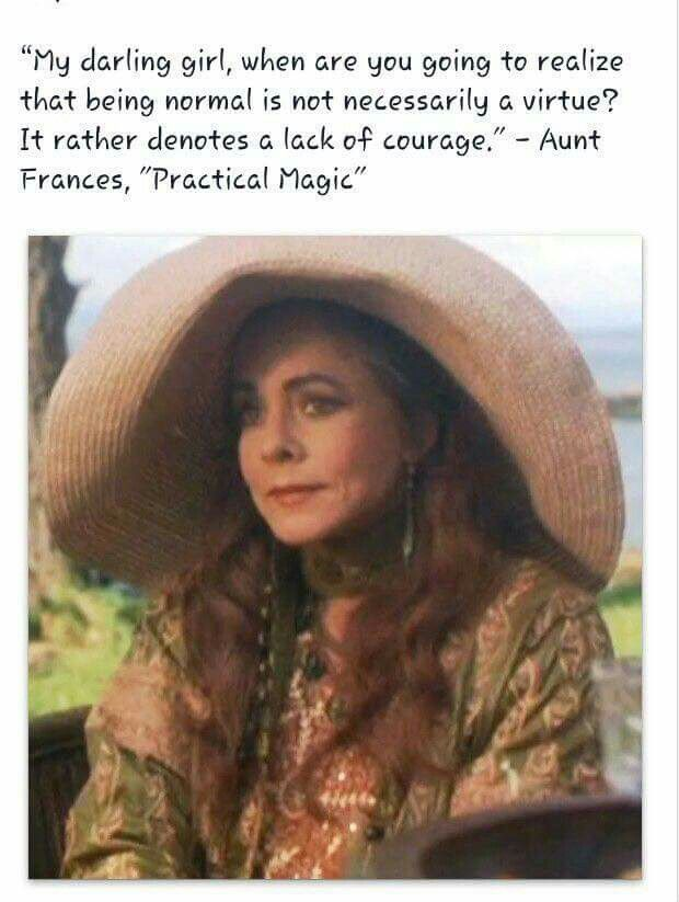 Aunt francis, Practical Magic