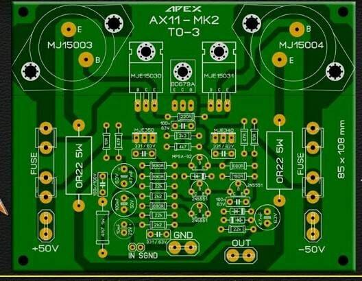 PCB Power Apex AX11-MK2