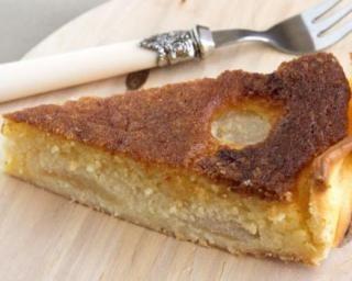 Tarte bourdaloue aux poires légère : http://www.fourchette-et-bikini.fr/recettes/recettes-minceur/tarte-bourdaloue-aux-poires-legere.html