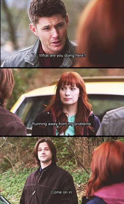 The fact that this is basically Supernatural and its fandom.