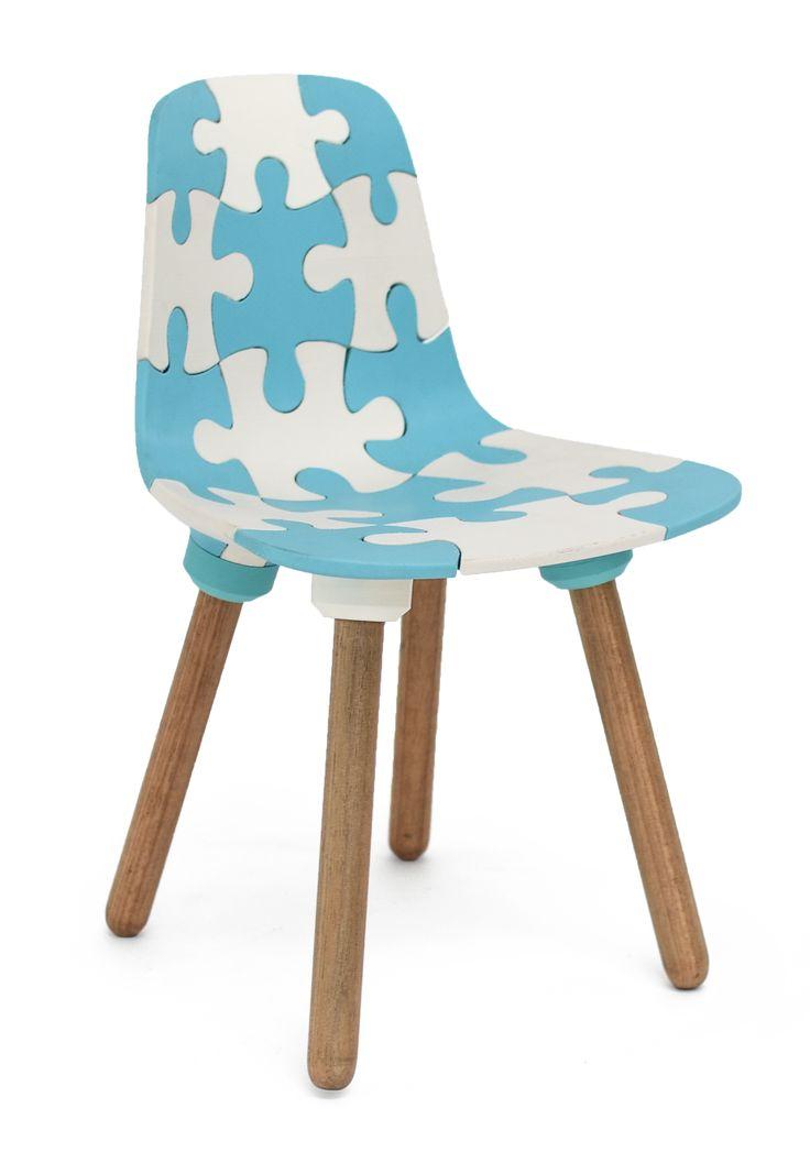 Joris Laarman, Kids Puzzle Chair, 3D Printed.