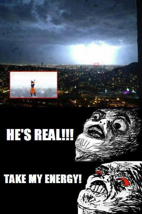 GOKU is REAL. DBZ memes