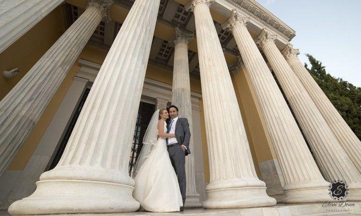 Wedding Photo Shoot in Athens - Wedding in Greece