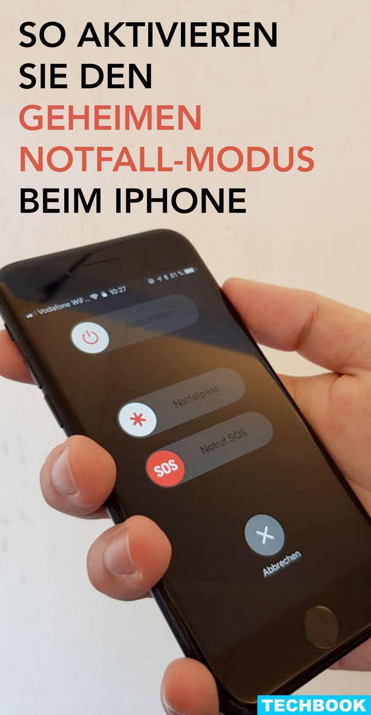 So aktivieren Sie den geheimen Notfall-Modus beim iPhone