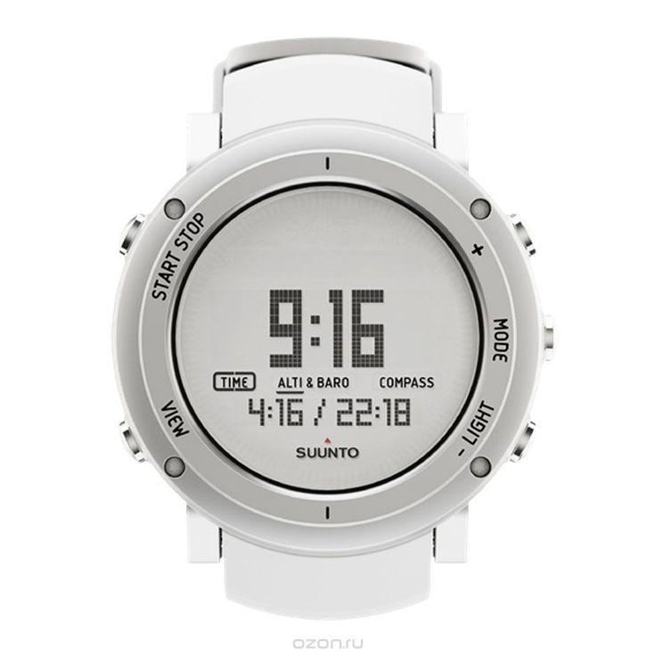 """Часы спортивные Suunto """"Core Alu"""", цвет: белый - купить в интернет-магазине OZON.ru с доставкой. Цены и отзывы на товары раздела Спорт и отдых."""