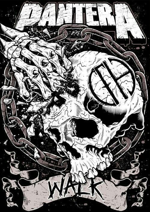 Pantera. Considerada hoy día una de la bandas más pesadas de los años 90 y quienes avivaron la llama de heavy metal cuando las grandes productoras daban importancia a géneros como el pop y la balada