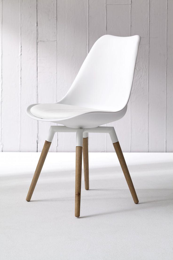 25 beste idee n over keukenstoelen op pinterest keuken for Eettafel stoelen wit leer
