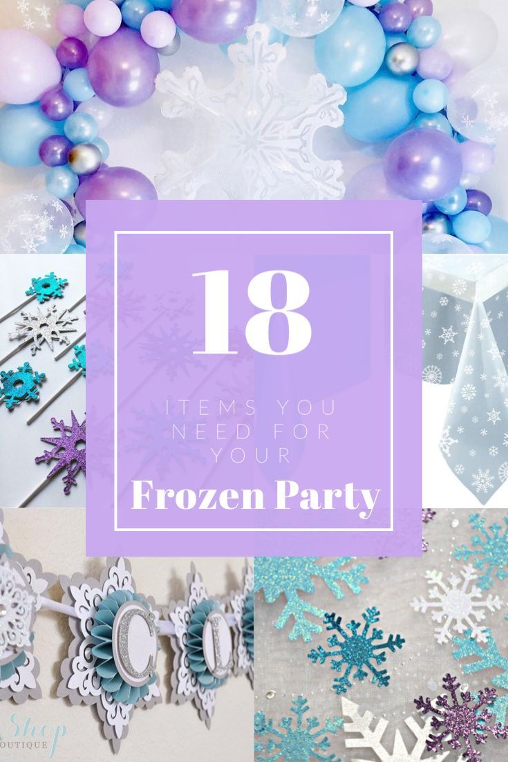 Decorating Inspiration For The Most Elegant Frozen Party Snowflake Decorations Party Frozen Birthday Party Invites Glitter Party Decorations