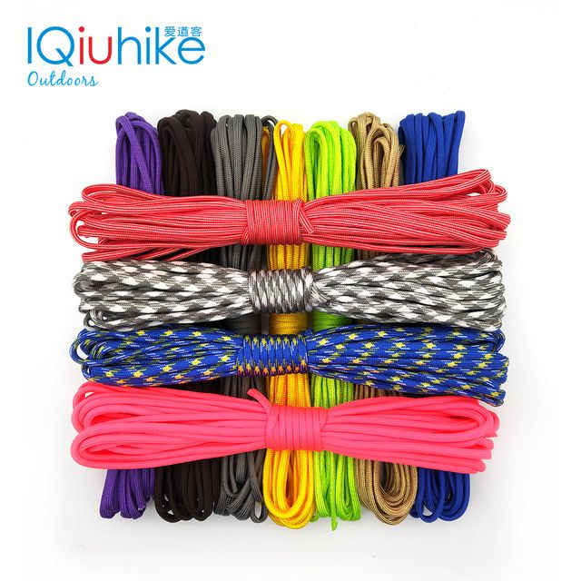Iqiuhike 208 Colors 31meters Paracod 550 Parachute Cord Lanyard