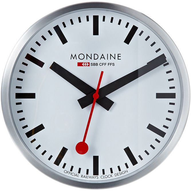 Swiss Railway clocks (The Apple clock), perfect for the office.