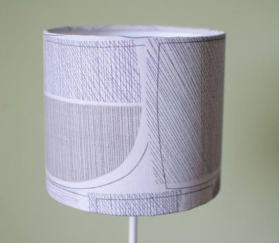 Grey lampshade simple decor modern lamp shade contemporary