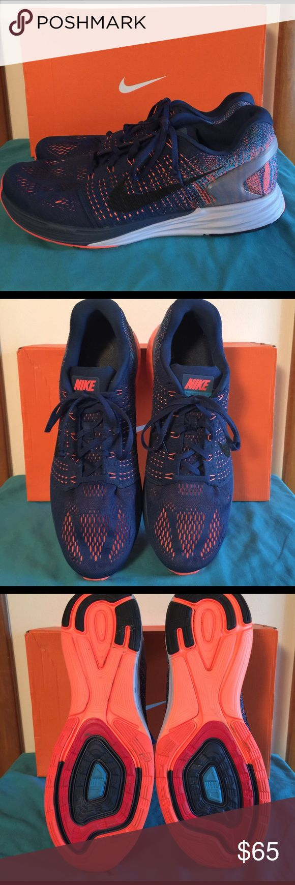 Nike Lunarglide 7 Mens size 13 Nike Lunarglides. In great condition and worn only a hand full of times. Nike Shoes Athletic Shoes