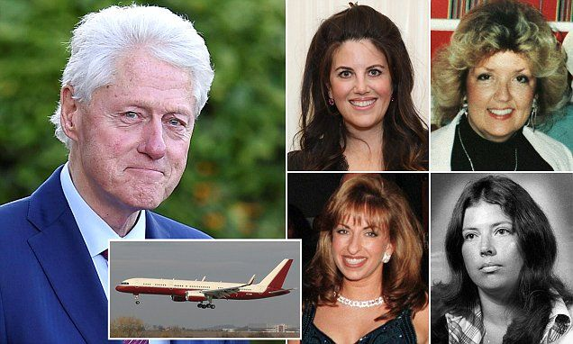 Bill Clinton accused of sexual assault by four women!  Just a pittance of those assaulted  by this sexual pervert❗️ Democrats still love him and buy his books and pay to hear him talk. SICK!!