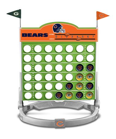 Green Bay Packers vs. Chicago Bears Connect Four Game by PPW Toys