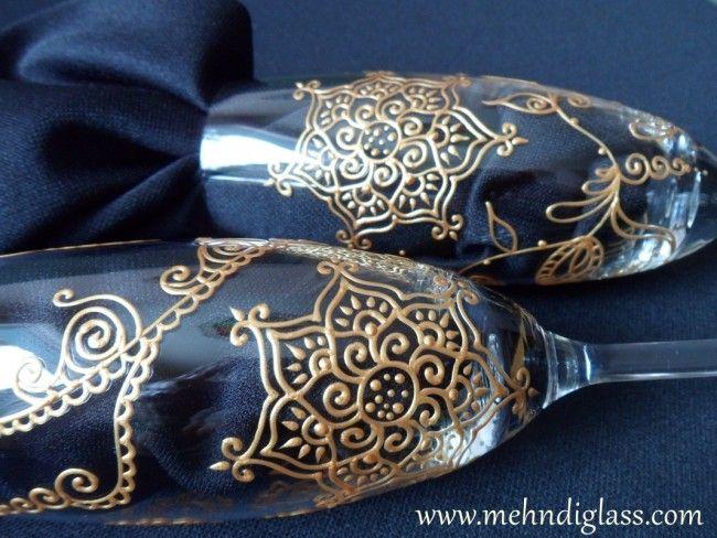 Indian Wedding Site Relaunch Celebration Sweepstakes: Mehndi Glass