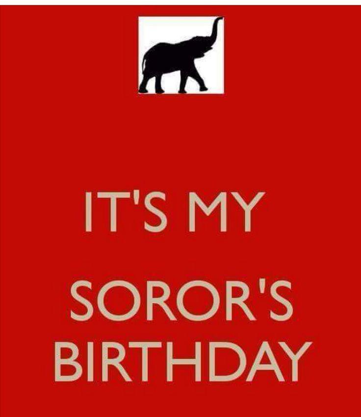 Happy birthday soror Delta Sigma Theta Sorority Inc
